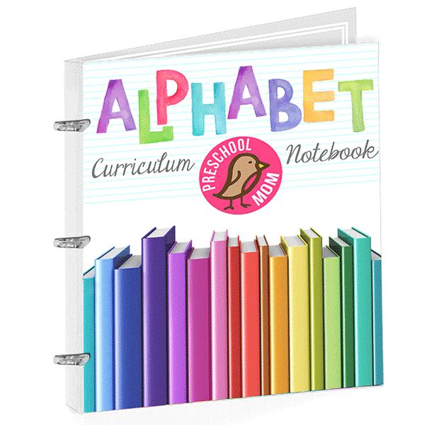 Alphabet Curriculum Notebook
