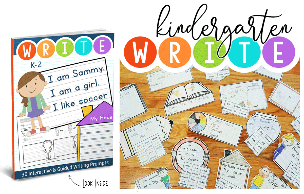 Classroom Writing Ideas ~ Write kindergarten writing prompts the crafty classroom