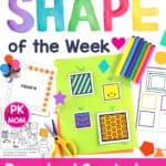 ShapeofthweekPreschool