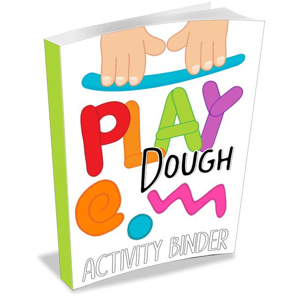 Play Dough Activity Binder
