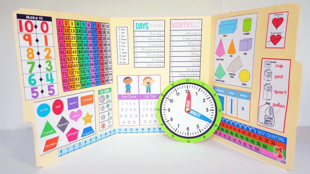 Interactive Math: Kindergarten - The Crafty Classroom