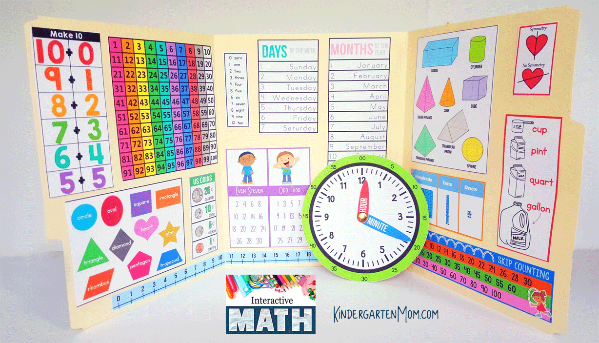 Kinder Garden: Interactive Math: Kindergarten