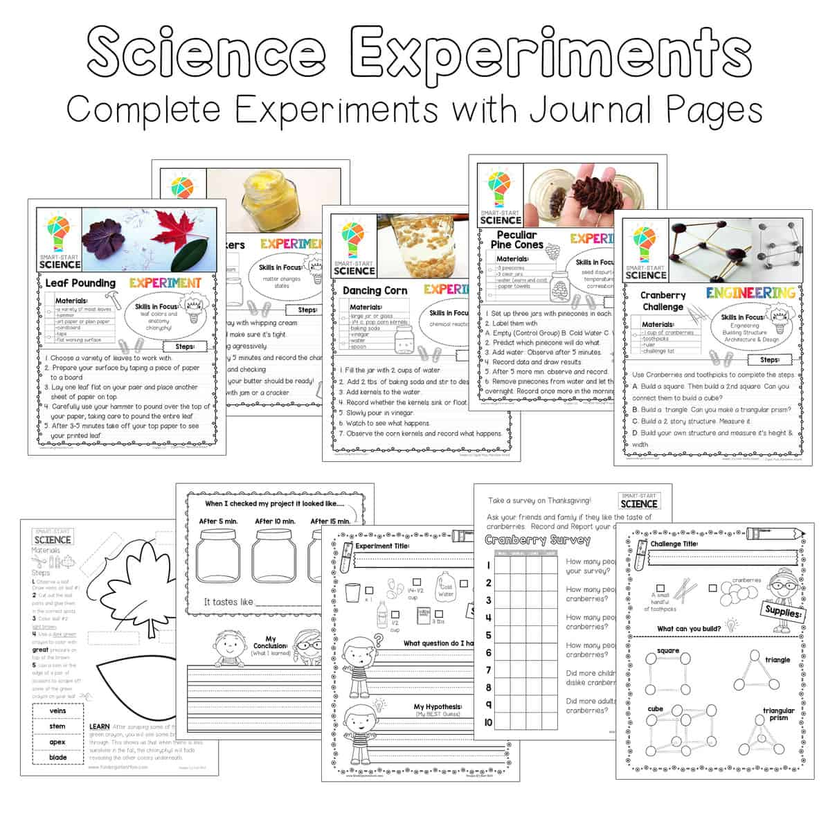thanksgiving science experiments the crafty classroom. Black Bedroom Furniture Sets. Home Design Ideas
