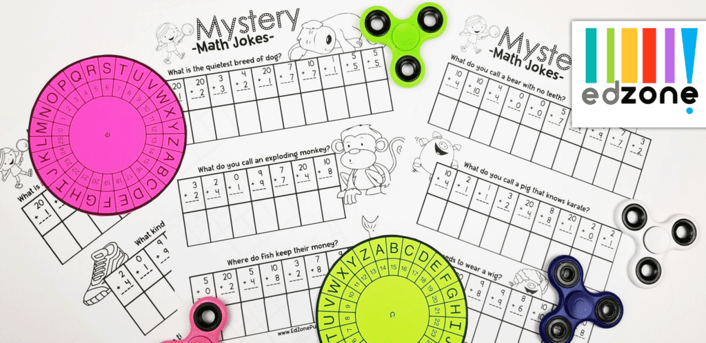 Minute Spin It Math Drills: Addition - The Crafty Classroom