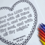 HearBibleVerseColoringPages