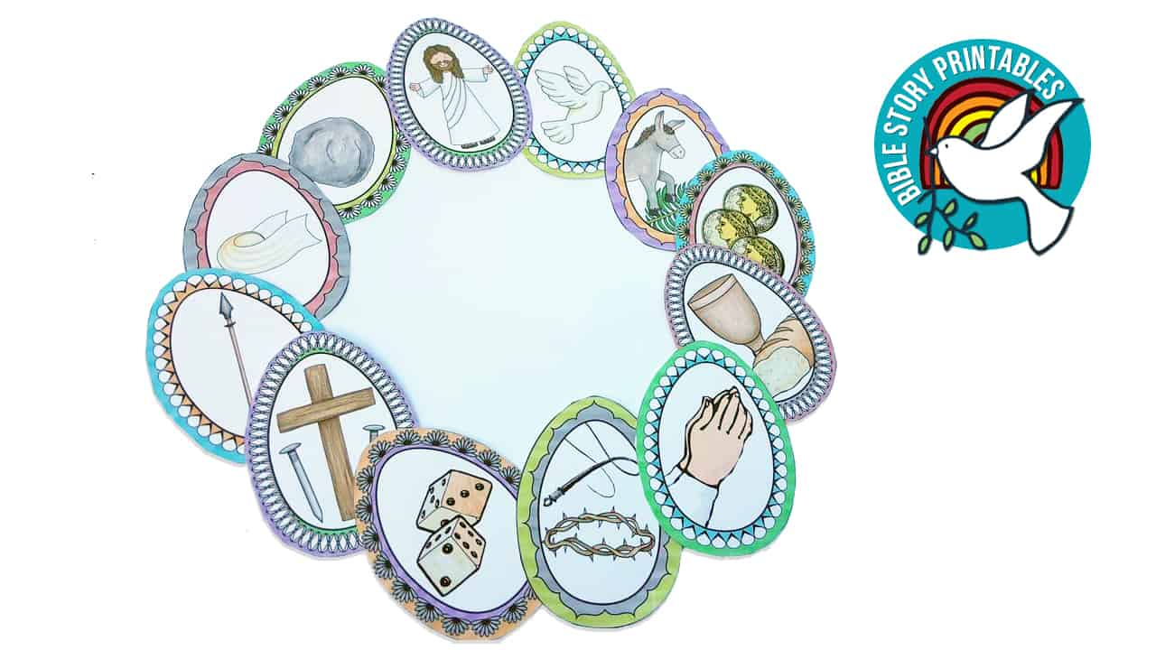 Easter Bible Activity Pack - The Crafty Classroom