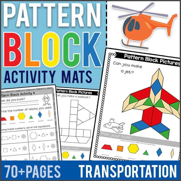 PatternBlockMatsTransportation