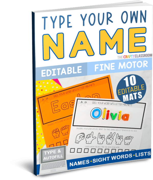 Type Your Own Name