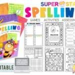 EditableSpellingWorksheets