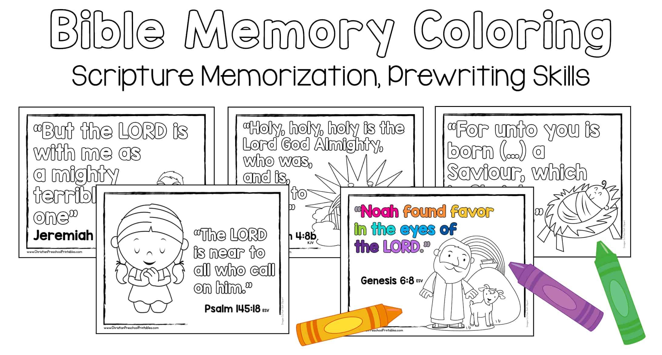 Bible Memory Verse for Kids