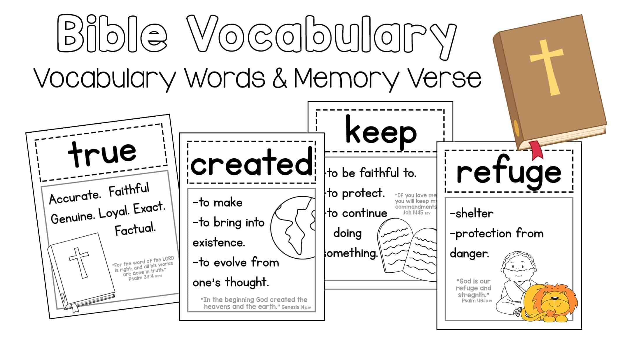 Bible Vocabulary