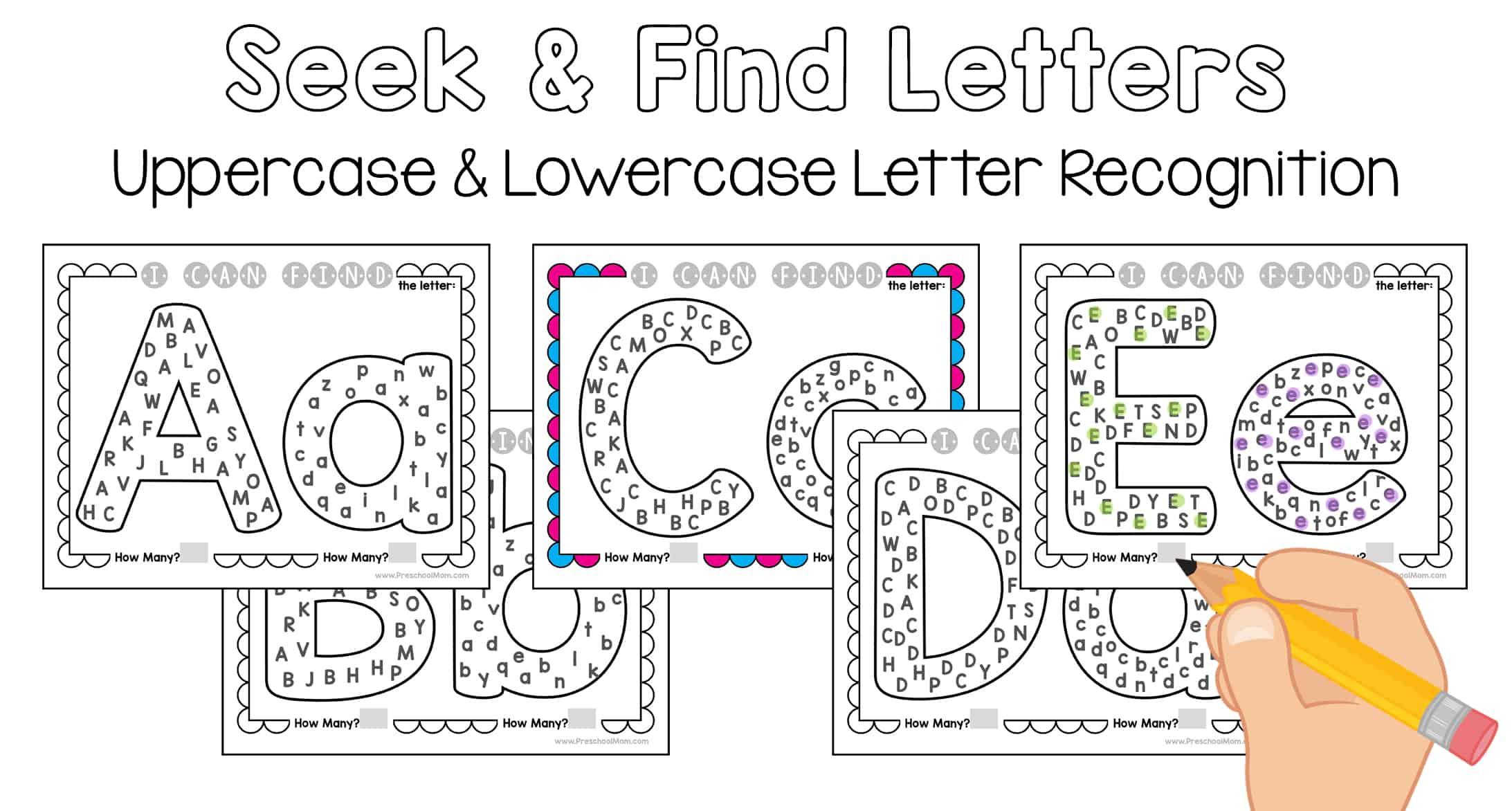 Seek & Find Alphabet
