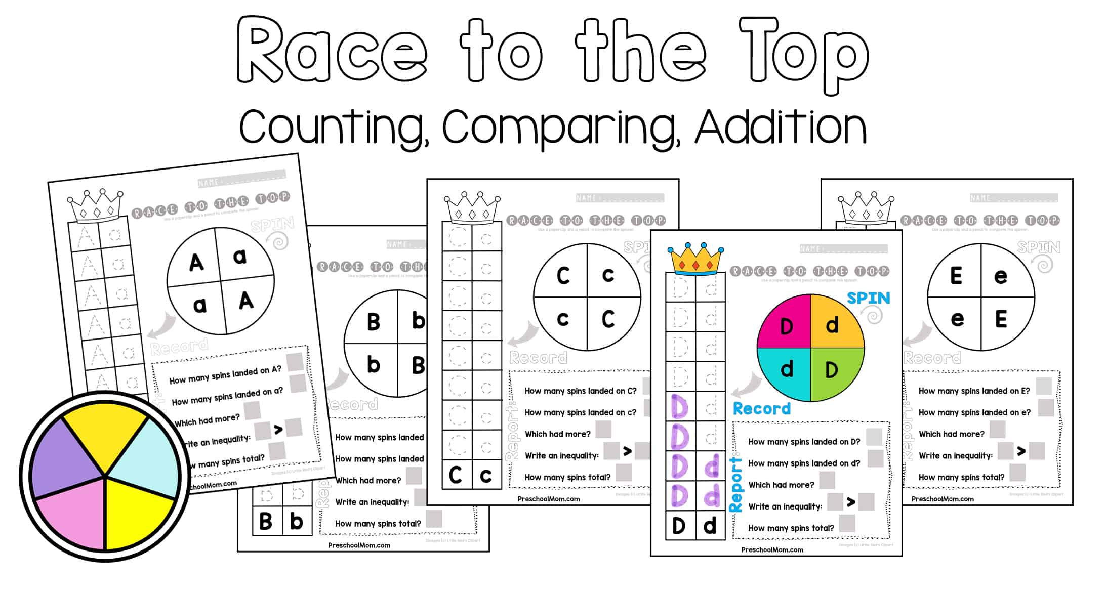 Spin Alphabet Game